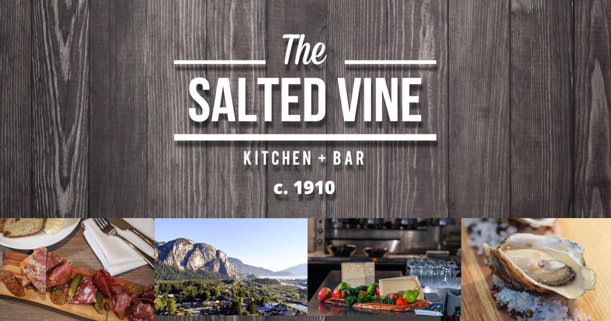 The Salted Vine Kitchen + Bar | Restaurant | Squamish BC